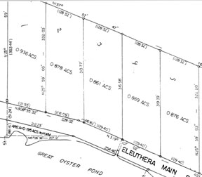 Land for Sale at Lots Located on Main Road Palmetto Point, Eleuthera, Bahamas