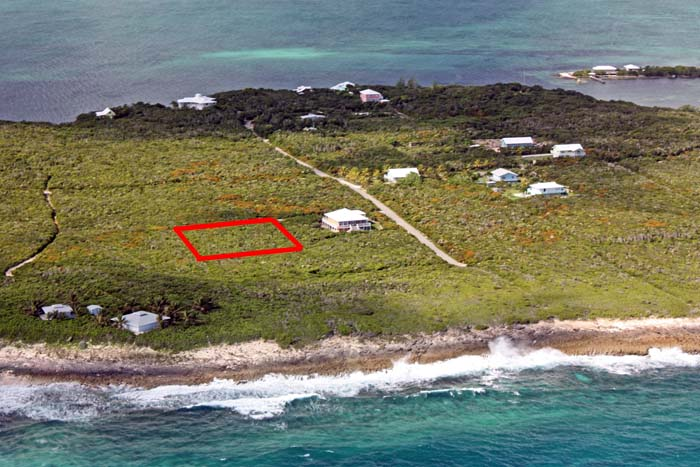 Land for Sale at Elevated Ocean View Lot with Paved Road, The Right Price (MLS14418) Guana Cay, Abaco, Bahamas