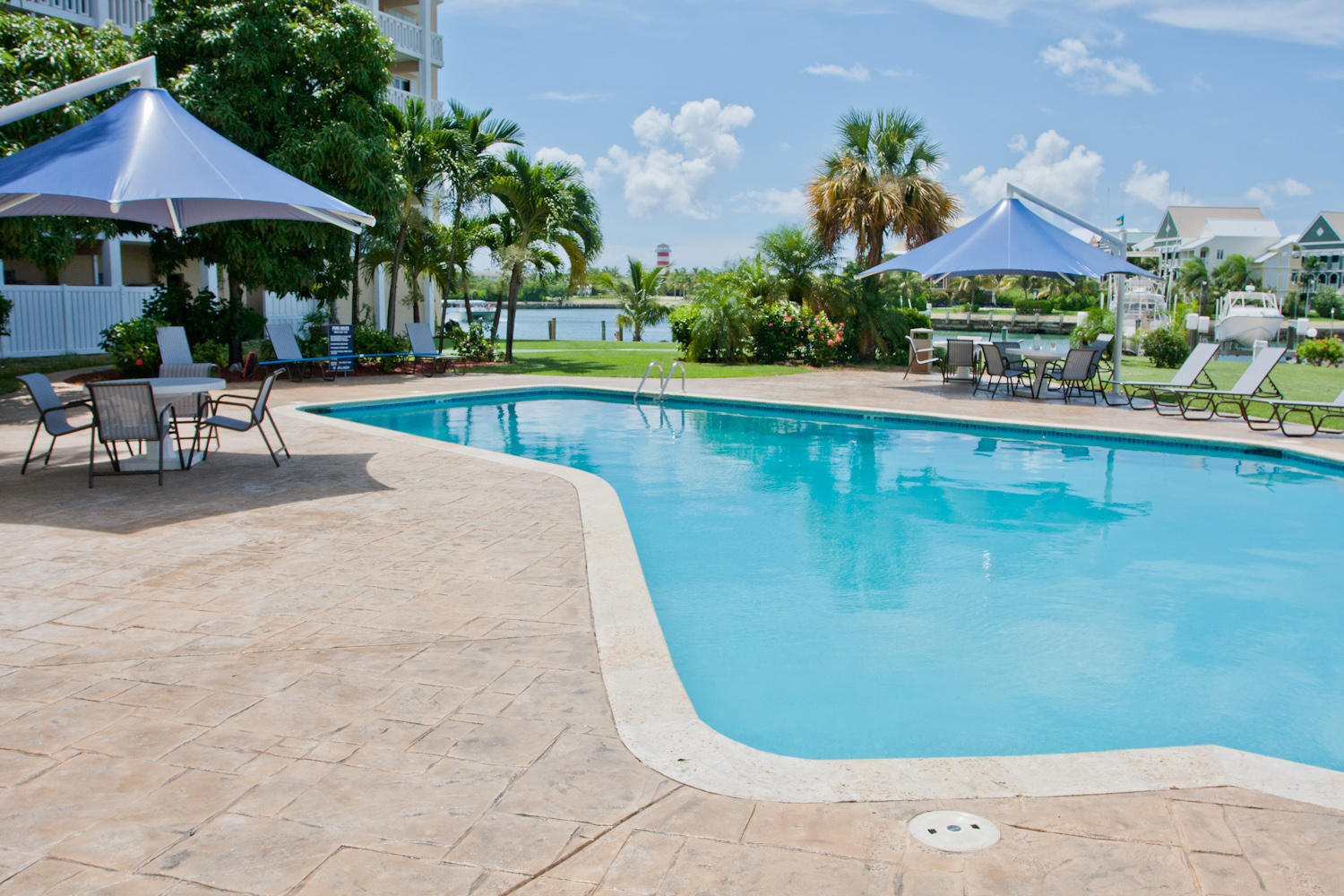 Co-op / Condo for Sale at Elegant Ocean View Apartment in Harbour House Towers Grand Bahama, Bahamas