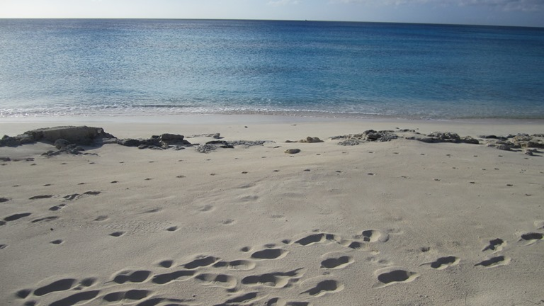 Land for Sale at Beachfront lot in San Salvador with all utilities - MLS 27416 San Salvador, Bahamas