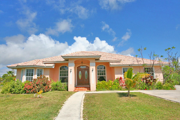Single Family Home for Sale at REDUCED! Island Style CanalFront Home near Beach in Fortune Bay Bahamas