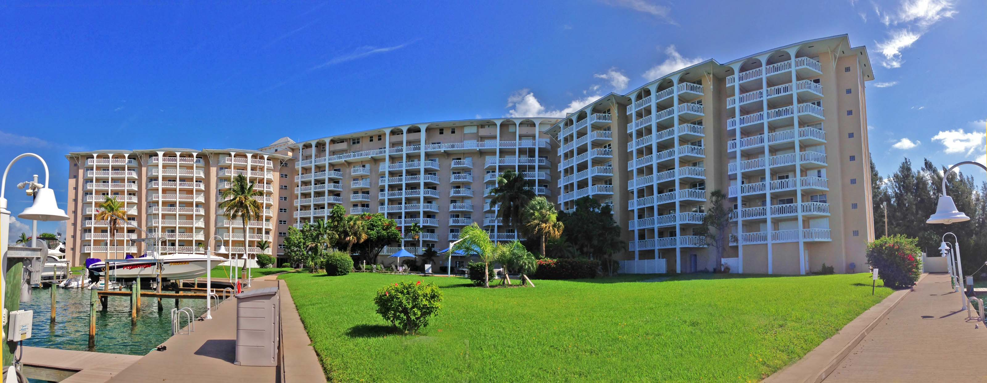 Co-op / Condo for Sale at Spectacular 2 Bedroom Condo in Harbour House Towers Bell Channel, Lucaya, Grand Bahama Bahamas