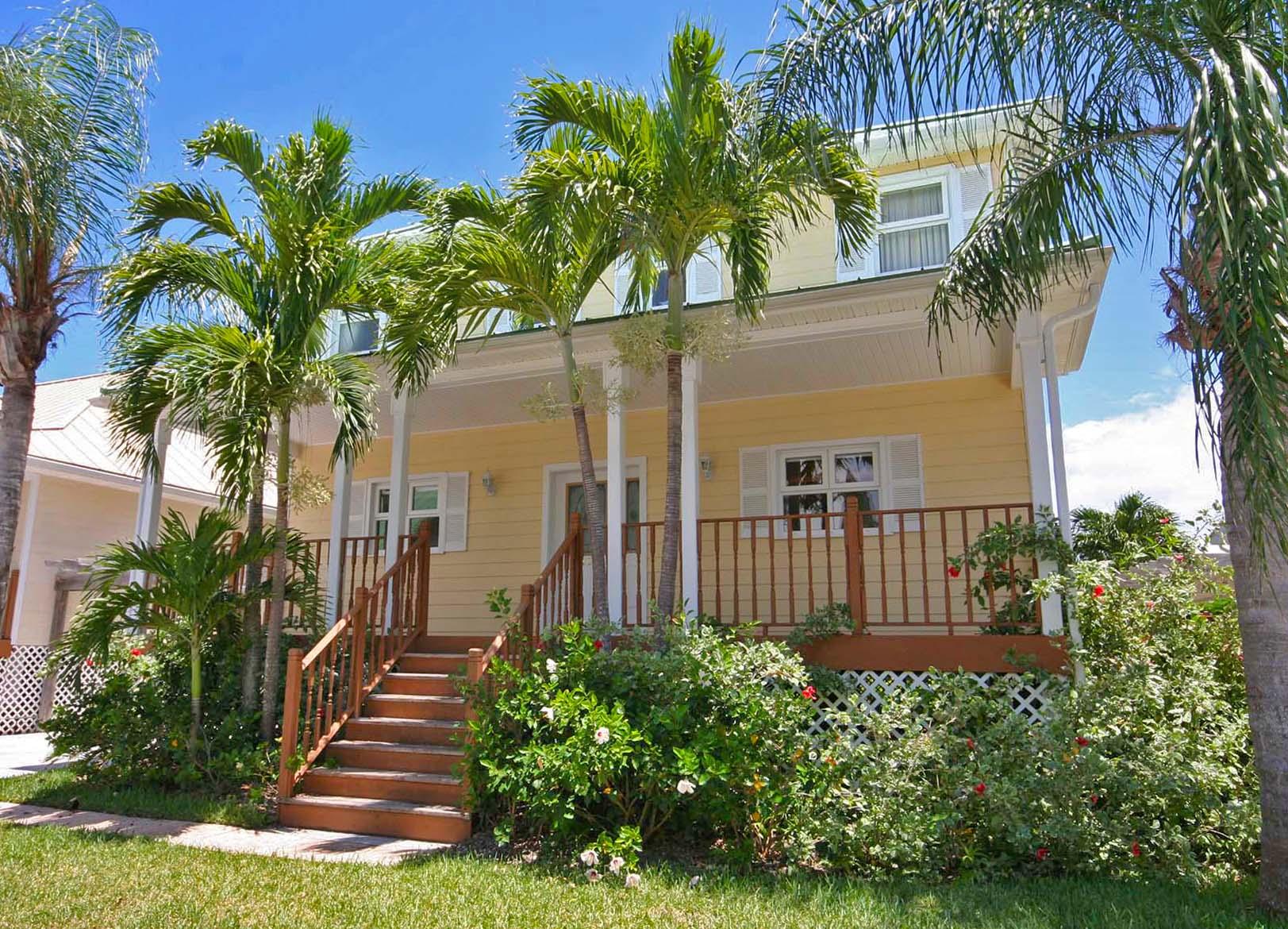 Single Family Home for Sale at Superb Island Living in Beachfront Gated Community Shoreline, Lucaya, Grand Bahama Bahamas