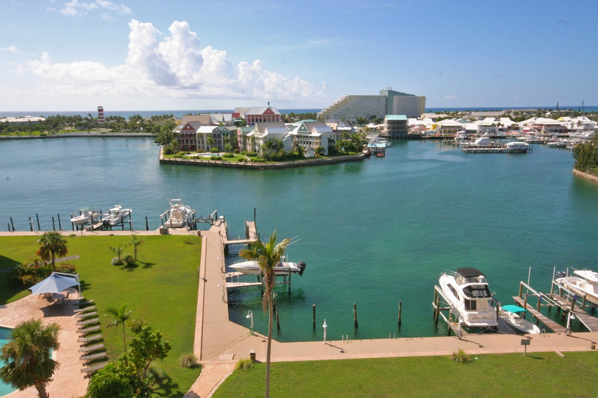 Co-op / Condo for Rent at Studio Condo with Gorgeous Water Views! Bell Channel, Lucaya, Grand Bahama Bahamas
