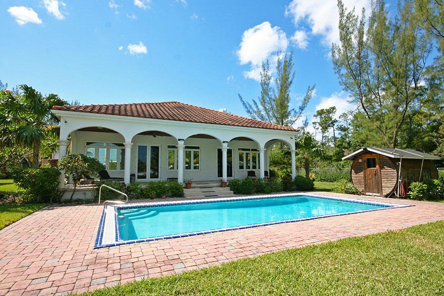 Single Family Home for Rent at Private Waterfront Utopia Colony Bay, Grand Bahama, Bahamas