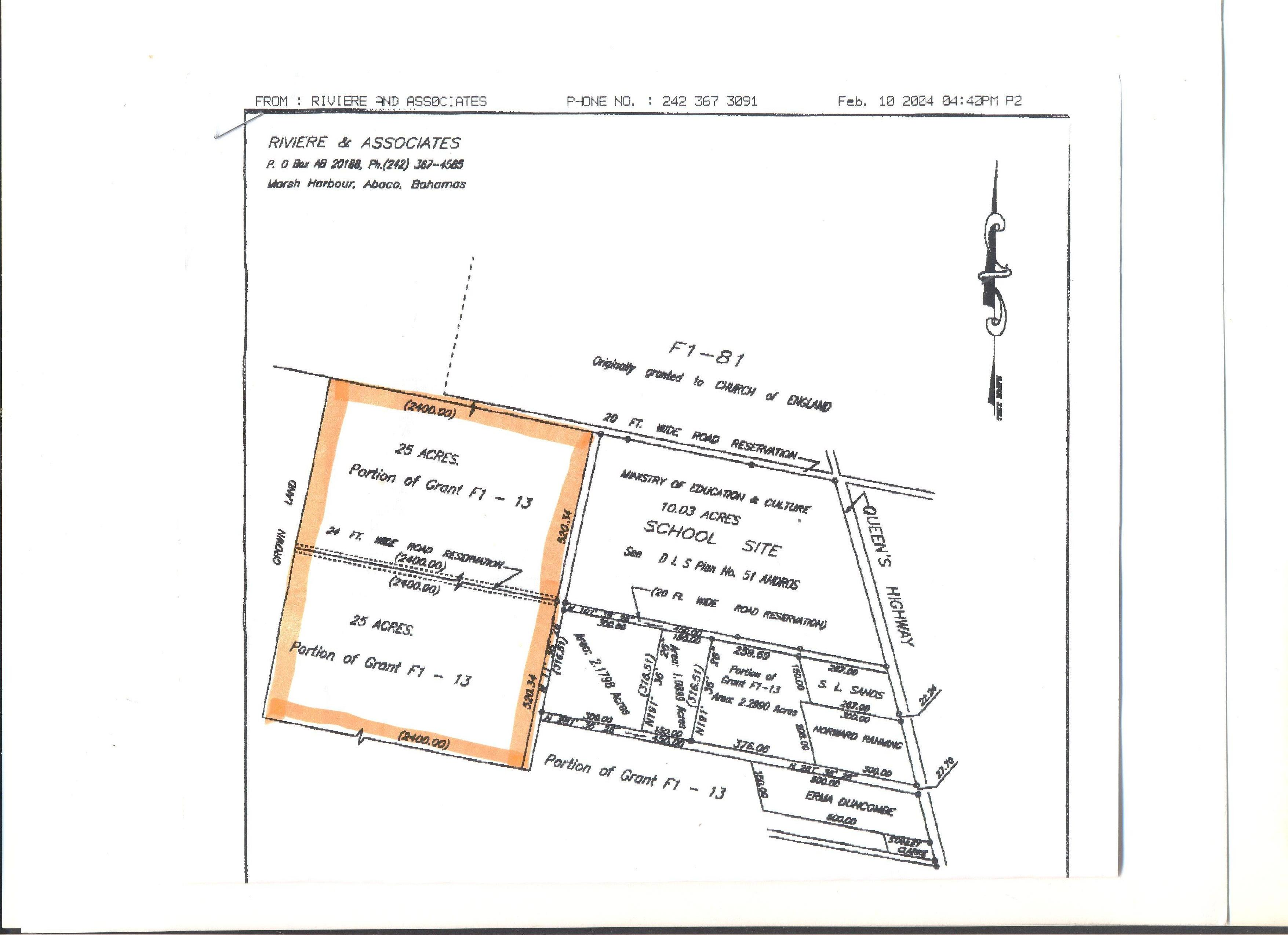 Land for Sale at Island Acreage Congo Town, Andros, Bahamas