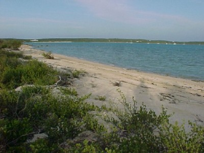 Land for Sale at Beach-Waterfront lot on Thompson Bay Long Island, Bahamas