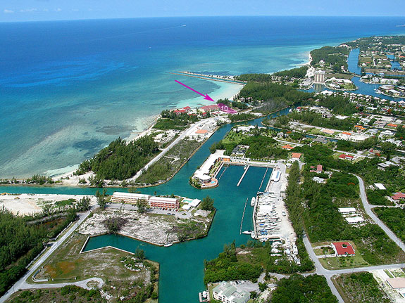 Land for Sale at Gorgeous Beachfront Lot Zoned Tourist Commercial Bahama Terrace, Freeport And Grand Bahama, Bahamas