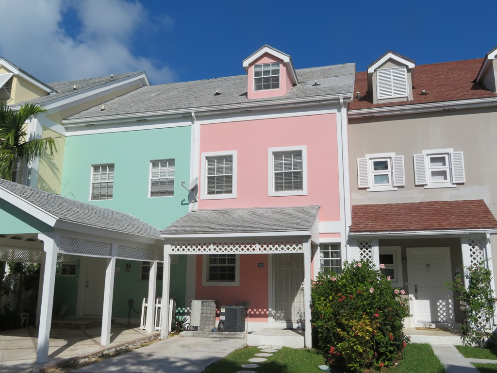Co-op / Condo for Sale at Canalfront Townhouse Sandyport, Cable Beach, Nassau And Paradise Island Bahamas