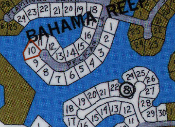 Land for Sale at Multi Family Point Canal Lot in Bahama Reef Yacht & County Club Grand Bahama, Bahamas
