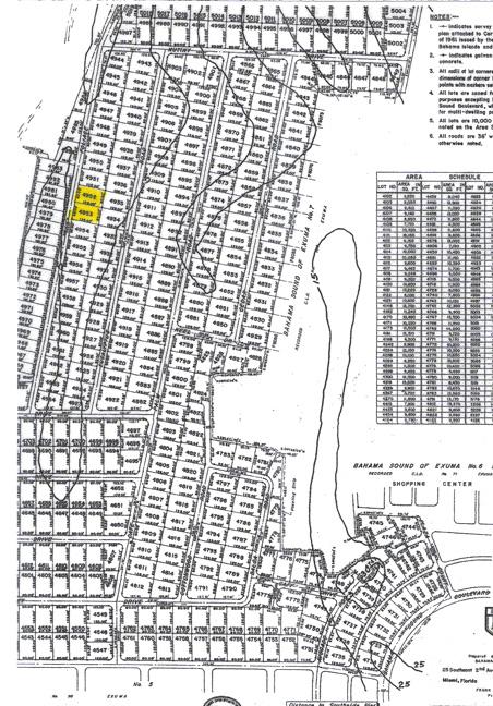 Land for Sale at Two Single-family Lots Bahama Sound, Exuma, Bahamas