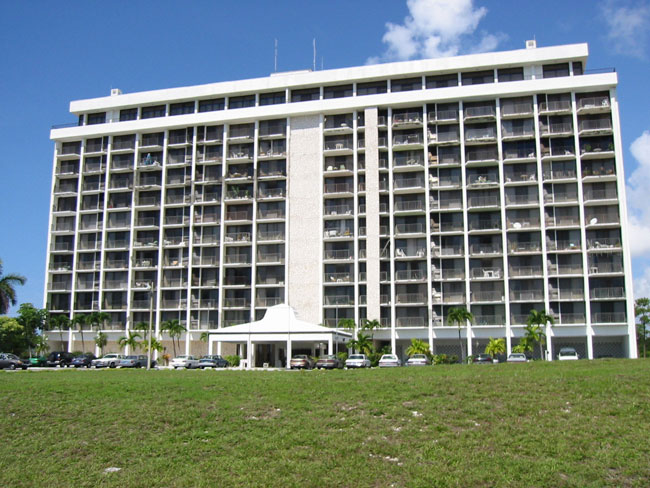 Co-op / Condo for Sale at A Two Bedroom Renovated Fourth Floor Condo In Lucayan Towers South Greening Glade, Grand Bahama, Bahamas