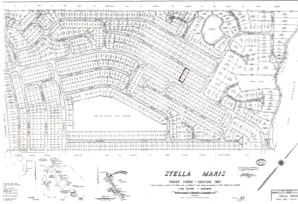 Land for Sale at Lovely Lot with Ocean Views Stella Maris, Long Island, Bahamas