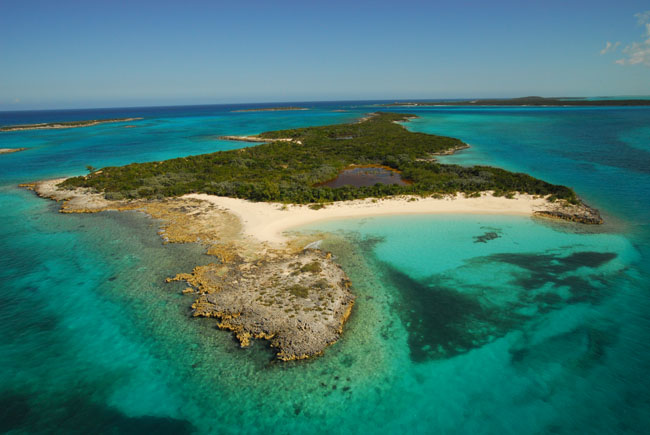 Private Island for Sale at Leaf Cay Private Island Exuma, Bahamas