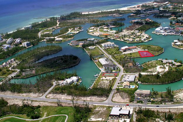 Land for Sale at Artfully Landscaped Canal Lot In Upscale Neighborhood Grand Bahama, Bahamas