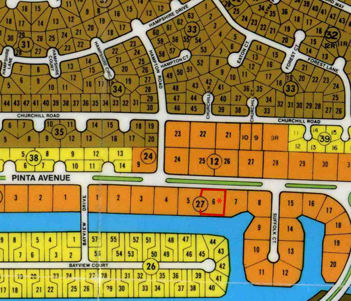 Land for Sale at Multi-family canal lot on Pinta Avenue Bahamia, Grand Bahama, Bahamas