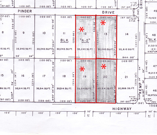 Land for Sale at Sunset Highway Commercial Lots Caravel Beach, Grand Bahama, Bahamas