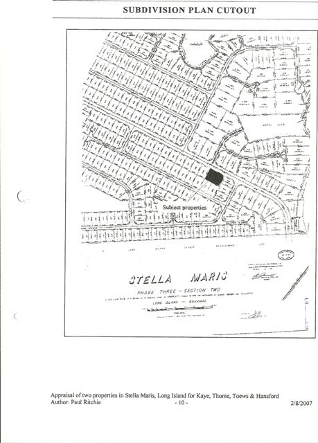 Land for Sale at An Incredible Buy Stella Maris, Long Island, Bahamas