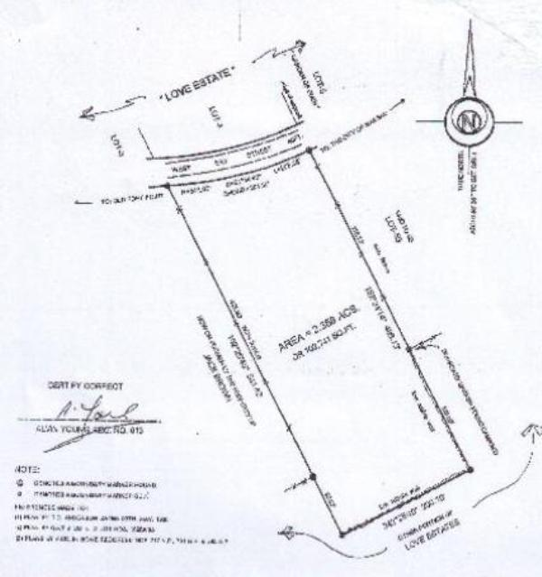 Land / Lot for Sale at West Bay Street Residential Acreage Bahamas