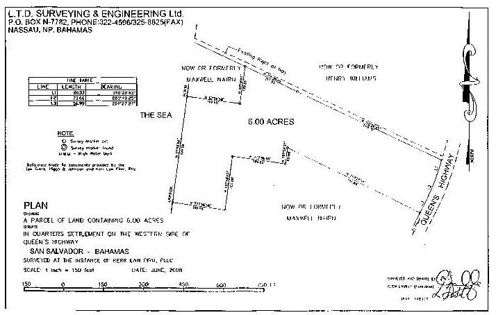 Land for Sale at San Salvador Lot San Salvador, Bahamas