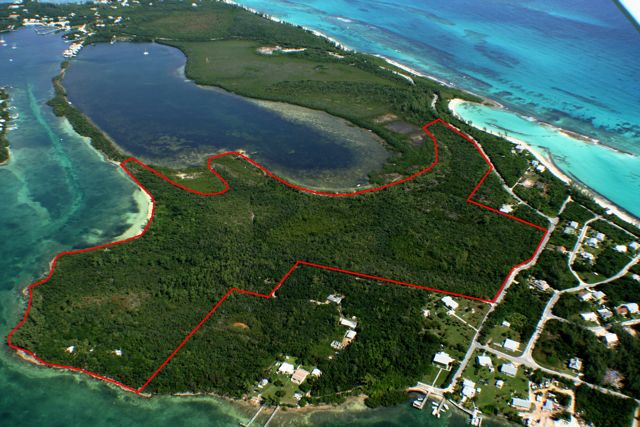 Terre / Lot de terrain pour l Vente à The Summer Estate Tract Inner White Sound Abaco, Bahamas