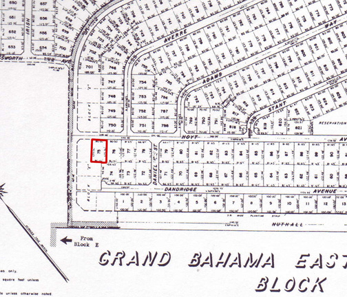 Land for Sale at Single Family Lot in Grand Bahama East Deadman's Reef, Grand Bahama, Bahamas