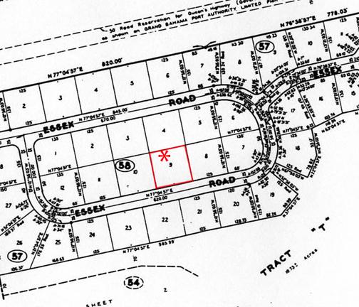 Land for Sale at Multi-Family Lot in Suffolk Suffolk, Grand Bahama, Bahamas