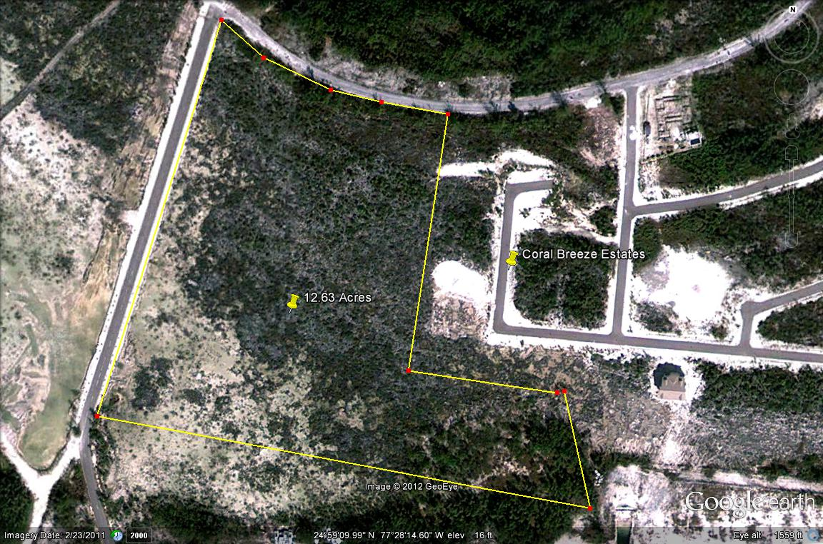 Land / Lot for Sale at Development Potential in Coral Harbour Bahamas