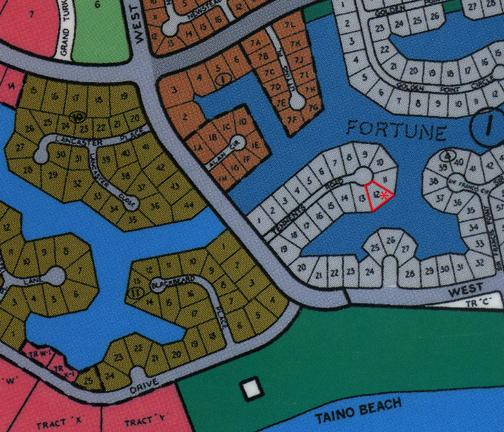 Land for Sale at Fortune Bay Single Family Canal Lot Taino Beach, Grand Bahama, Bahamas