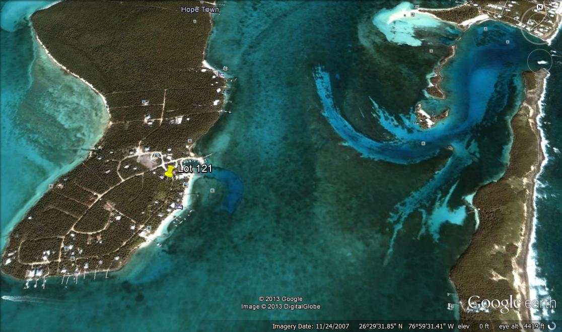 Land for Sale at Large lot at Abaco Ocean Club near boat basin and community dock. (MLS 18569) Lubbers Quarters, Abaco, Bahamas