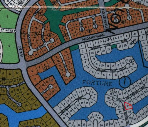 Single family canal lot on Sir Francis Point Fortune Bay, Grand Bahama, Bahamas
