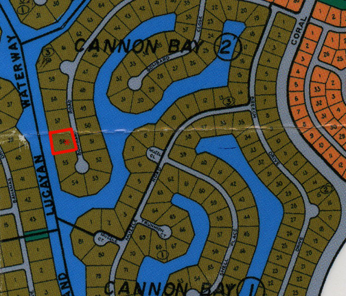 Land for Sale at Cannon Bay multifamily high rise canal lot on Bombard Road Cannon Bay, Grand Bahama, Bahamas