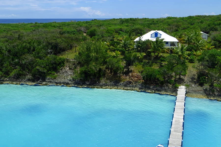 Single Family Home for Sale at 8.8 Acre Estate with Three Bedroom Home MLS 29551 Tilloo Cay, Abaco, Bahamas