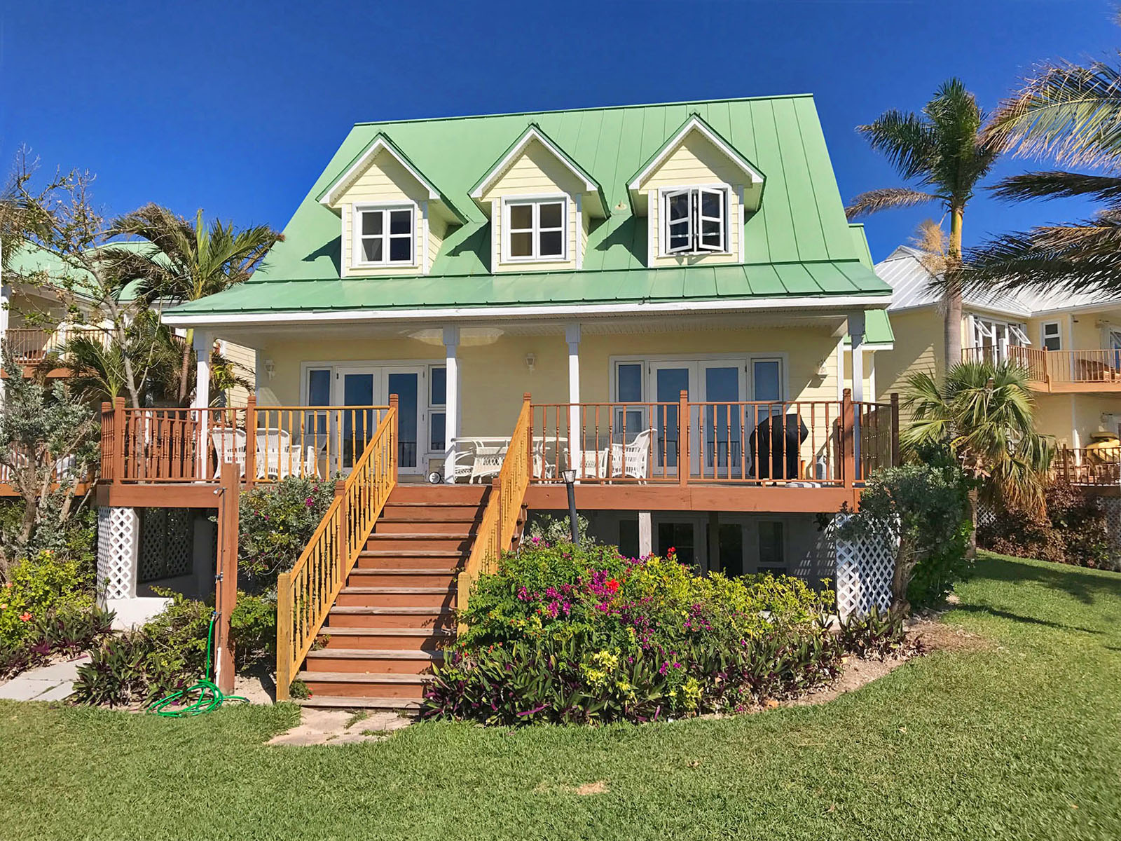 Single Family Home for Sale at REDUCED!! Fantastic Oceanfront Home in Prestigious Gated Community Bahamas