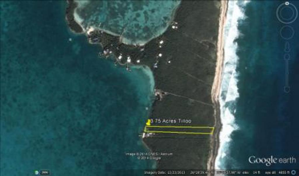 Land for Sale at Sea to Sea Property! 3.75 Acres on Tilloo Cay (MLS 21600) Tilloo Cay, Abaco, Bahamas