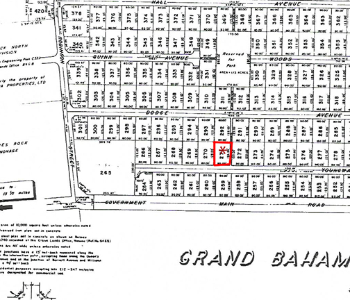 Land for Sale at Vacant lot in West Grand Bahama Grand Bahama East, Grand Bahama, Bahamas