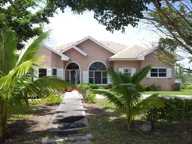 Single Family Home for Sale at Canal front home in Derby Derby, Grand Bahama, Bahamas
