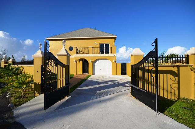 Single Family Home for Sale at Hilltop house with stunning sea views Indigo, West Bay Street, Nassau And Paradise Island Bahamas