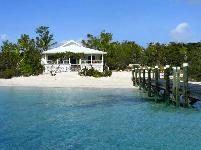 Single Family Home for Sale at Beach House Cottage with a Private Dock (MLS 22224) Lubbers Quarters, Abaco, Bahamas