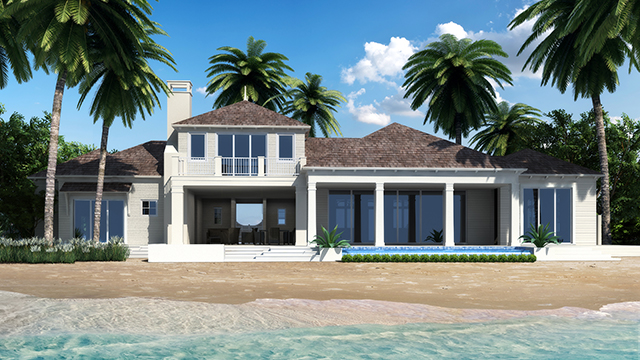 Maison unifamiliale pour l Vente à The Tamarind Estate at Deep Water Cay Bahamas