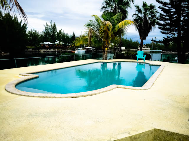 Single Family Home for Sale at Fantastic canalfront home with guest house on point lot on Lagniappe in Fortune Bay Fortune Bay, Grand Bahama, Bahamas