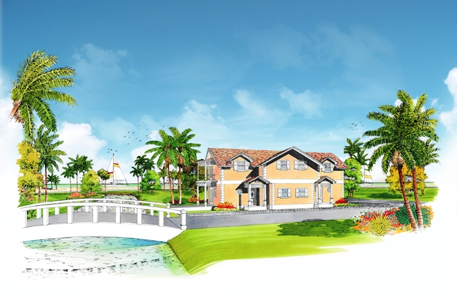 Casa Unifamiliar por un Venta en Beautiful Modern Home Under Construction in Sandyport Nassau New Providence And Vicinity