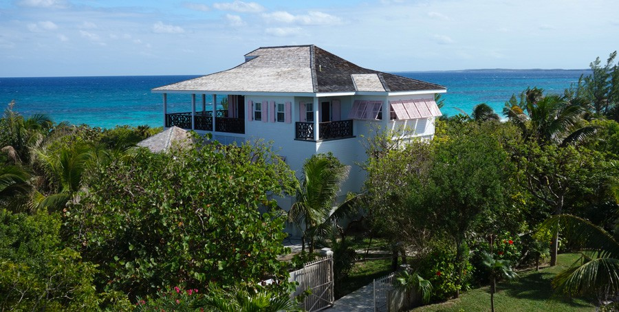 Moradia para Venda às Unobstructed Ocean Views with Private Beach Access Harbour Island, Bahamas