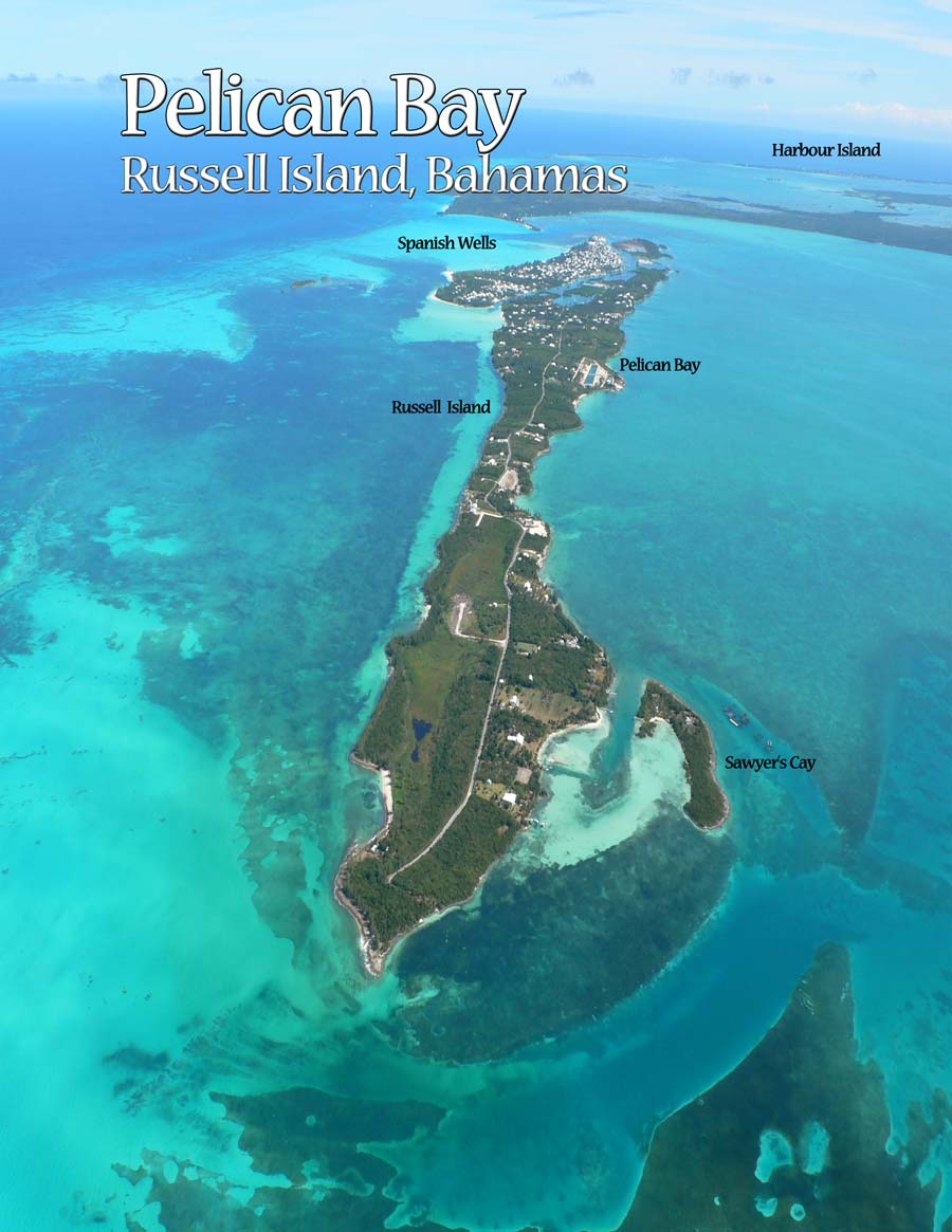 Land for Sale at Bahamas Family Island Canal Frontage Russell Island, Eleuthera, Bahamas