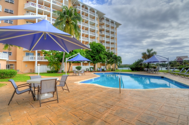Co-op / Condo for Sale at OWNER FINANCING AVAILABLE-Spectacular 1 Bedroom Condo in Harbour House Towers Bell Channel, Lucaya, Grand Bahama Bahamas