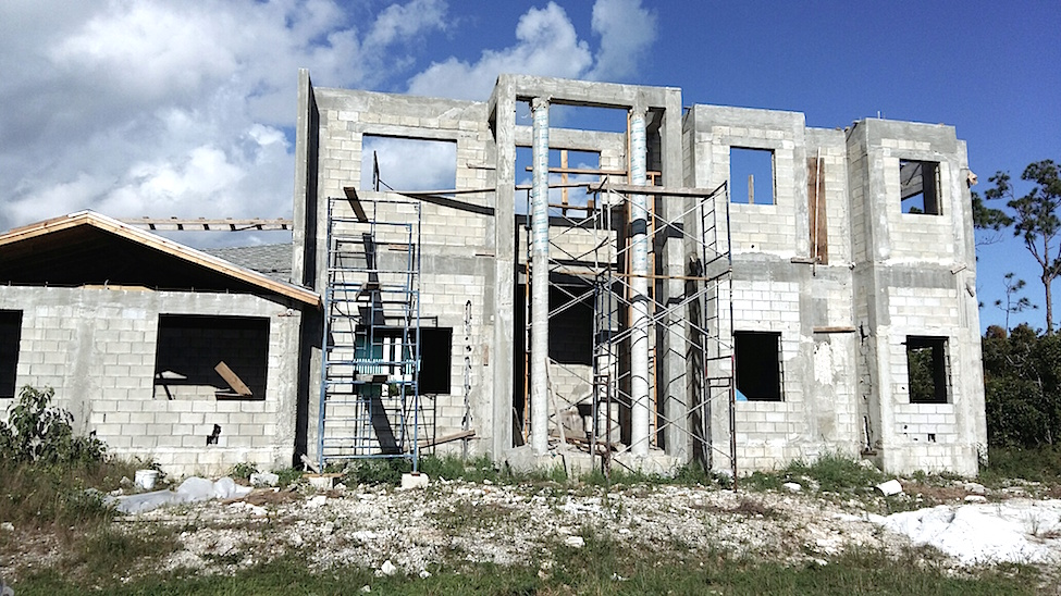 Single Family Home for Sale at South Ocean Estates Partially Built Home - Unbeatable Deal - MLS 31128 South Ocean, Nassau And Paradise Island, Bahamas