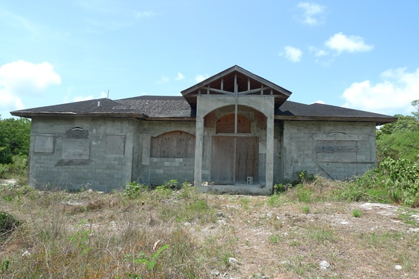 Single Family Home for Sale at Incomplete Home in Royal Bahamia Estates Royal Bahamian Estates, Grand Bahama, Bahamas