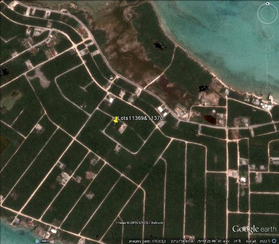 Land for Sale at Two Single-Family Lots Offering Sea Views Bahama Sound, Exuma, Bahamas