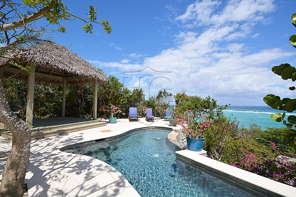 Single Family Home for Sale at Ob Shanti - A magical oceanview home located at Tropical Gardens. Tropical Gardens, Nassau And Paradise Island, Bahamas