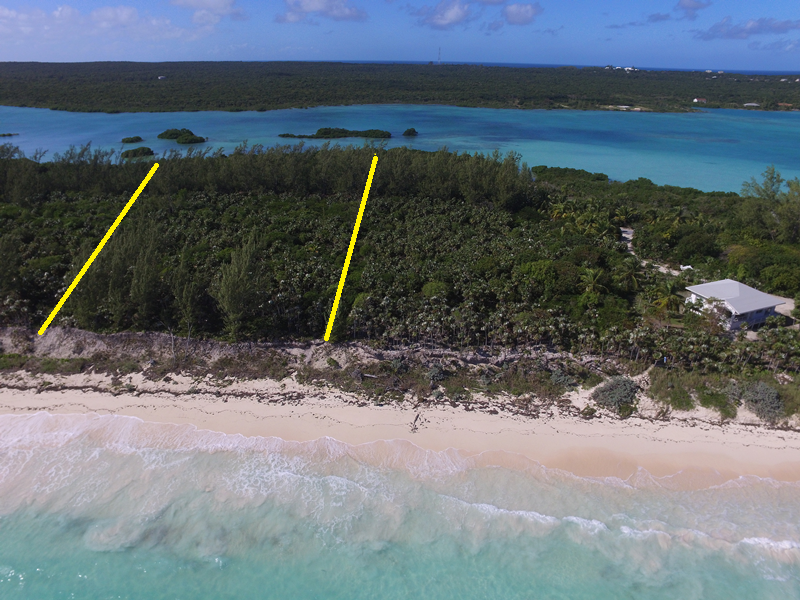 Terra / Lote para Venda às Wonderful Windermere Beachfront Lot MLS 26783 Eleuthera, Bahamas